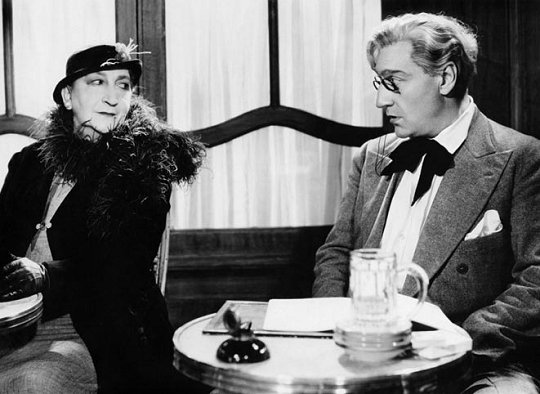 Marguerite Moreno, Sacha Guitry