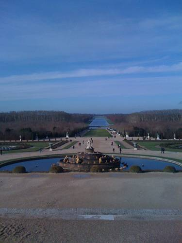 Versailles, Grand canal.